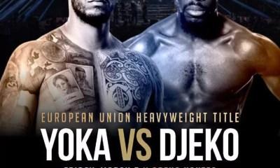 Yoka vs Djeko officialisé pour le 5 mars à la H Arena