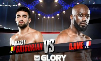 Djimé COULIBALY vs Marat GRIGORIAN - Full Fight Video - GLORY 30