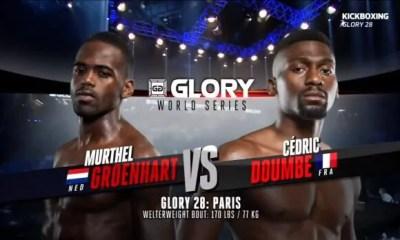 Cedric Doumbé vs Murthel Groenhart - Full Fight Video - Glory 28