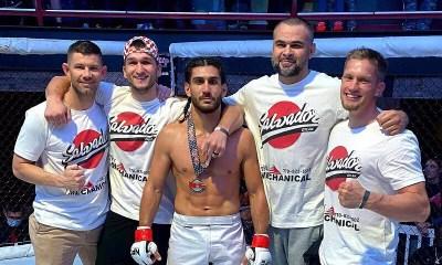 VIDEO - Dylan Salvador signe une seconde victoire en MMA