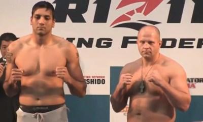 Fedor Emelianenko vs. Singh Jaideep - Full Fight Video - Rizin FF