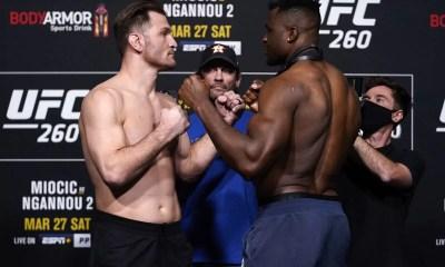 UFC - Francis Ngannou vs Stipe Miocic 2 - Comment regarder le combat en direct ?