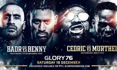 GLORY 76 - Hari vs Benny, Doumced vs Ghajji