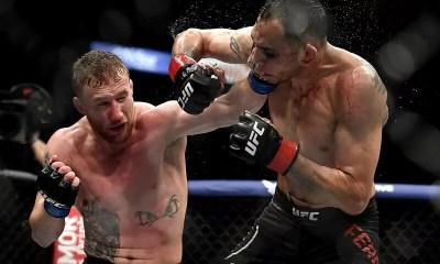 VIDEO HL - Justin GAETHJE brutalise Tony FERGUSON et remporte le titre intérim sur TKO