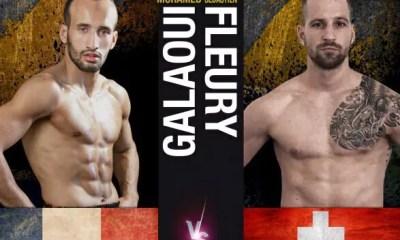 Sébastien FLEURY relève le défi GALAOUI au Fight Legend Geneva