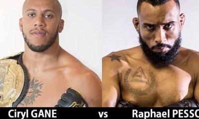 Cyril GANE affrontera Raphael PESSOA pour son premier combat à l'UFC