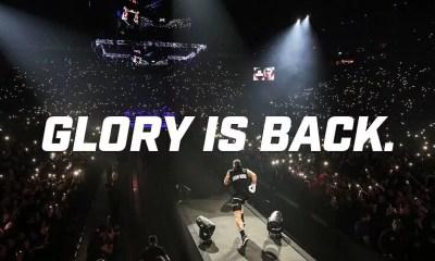 Le GLORY est de retour avec deux événements en Octobre et un en décembre