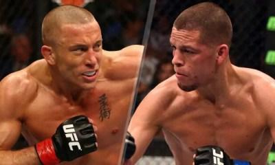 Georges St-Pierre vs. Nate Diaz en négociation pour l' UFC 227