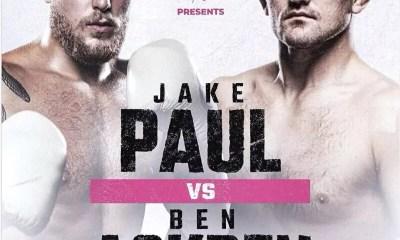Le combat de Boxe Jake Paul vs Ben Askren officialisé pour le 17 avril