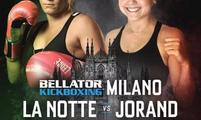 Jade JORAND affrontera Silvia LA NOTTE le 12 octobre au Bellator Kickboxing