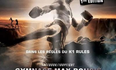 Le 100% FIGHT se met au K-1 Rules !