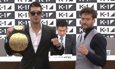 Hisaki KATO combattra pour la ceinture du K-1 World GP au K'FESTA 2!