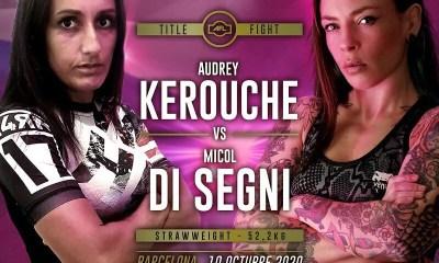 La Marseillaise Audrey Kerouche affrontera Micol Di Segni pour la ceinture de l'AFL MMA