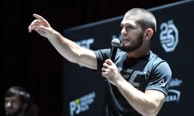 Khabib Nurmagomedov prêt à revenir si quelque chose de spectaculaire se passe lors de l'UFC 257