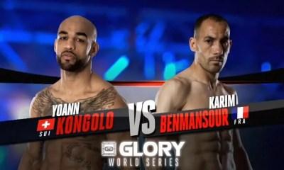 Yoann KONGOLO vs Karim BENMANSOUR - Fight Video - GLORY 37