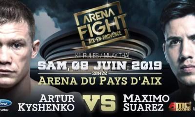 ARENA FIGHT - Artur KYSHENKO affrontera Maximo SUAREZ !