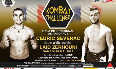 Laid ZERHOUNI vs Cedric SEVERAC - Full Fight Video - Kombat Challenge
