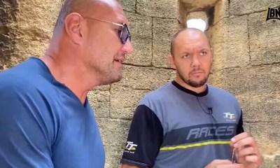 Reportage - Jérôme Le Banner rencontre Johann Duhaupas avant son combat avec Tony Yoka