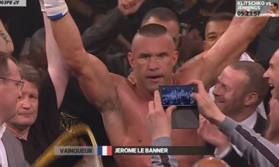 Jérôme Le Banner vs Claudiu Istrate - Fight Video - 2015
