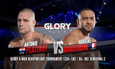Nordine Mahieddine vs Antonio Plazibat 2 - Replay du combat - GLORY 76