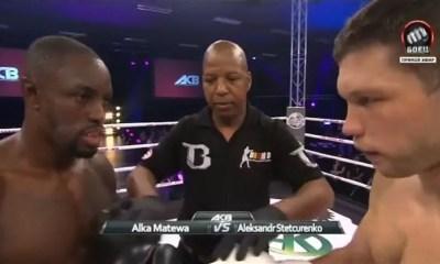 Alka MATEWA vs Alexander STETSURENKO - Full Fight Video - ACB KB 6