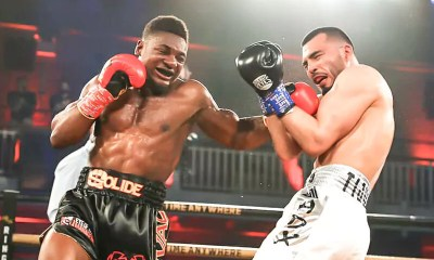 Vidéo - Christian M'Billi met son premier TKO aux USA