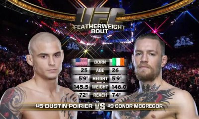 Conor McGregor vs. Dustin Poirier - full fight video - UFC 178