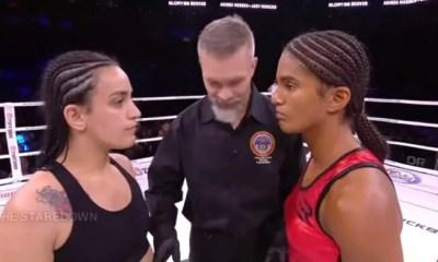 Anissa MESKEN vs Jady MENEZES 2 - Full Fight Video - GLORY