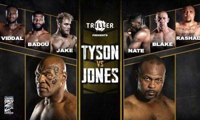 Mike Tyson vs Roy Jones - Comment regarder le combat en direct ?