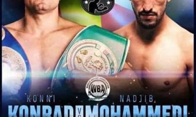 BOXE - Nadjib Mohammedi vs Konni Konrad le 14 septembre pour la ceinture Européenne IBF