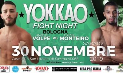 Jérémie MONTEIRO combattra à Bologne avec le YOKKAO