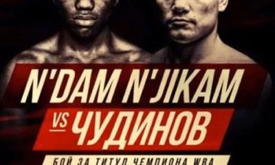 Hassan N'DAM vs Fedor CHUDINOV en Russie le 13 décembre