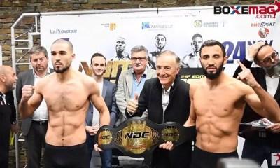 Nuit Des Champions 25 - ALLAZOV vs HENDOUF 2 - Direct Live et Résultats