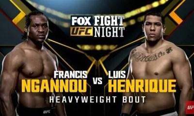 Francis Ngannou vs Luis Henrique - Full Fight Video - UFC on FOX 17
