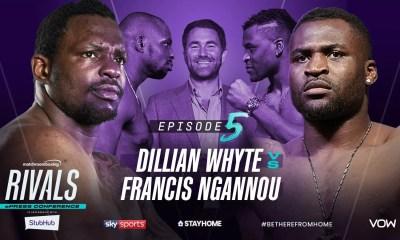 Dana White fait annuler la conférence de presse Ngannou vs Whyte prévue par Eddie Hearn