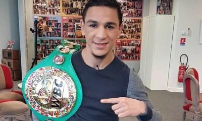 La WBC replace Nordine Oubaali en tant que champion du monde en titre
