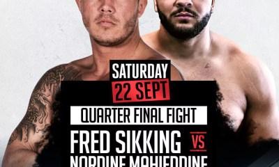 Nordine MAHIEDDINE vs Fred SIKKING pour le Final 8 du WFl