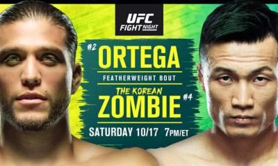 UFC Fight Island 6 Résultats - Ortega vs Korean