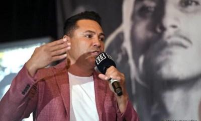 Oscar de La Hoya de retour sur les rings le 3 juillet