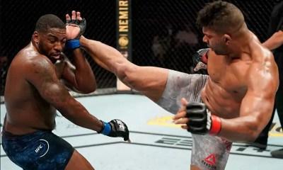 UFC - Alistair Overeem a eu très chaud mais s'impose par TKO sur Walt Harris - VIDEO