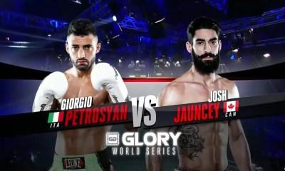 Giorgio Petrosyan vs Josh Jauncey - Full Fight Video - GLORY 25