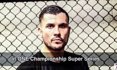 Fabio PINCA vs NONG-O  ITW avec le ONE FC - VIDEO