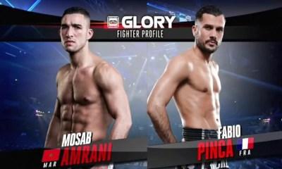 Fabio PINCA vs Mosab AMRANI 2 - Full Fight Video - GLORY 36
