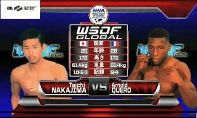Arnold Quero vs Taichi Nakajima - Full Fight Video - WSOF GC 2