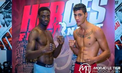 Bobo Sacko vs Marc Dass - Fight Video - Heroes Fight Night 5