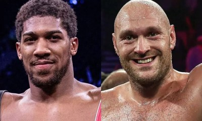 Anthony JOSHUA et Tyson FURY s'accordent sur deux combats en 2021