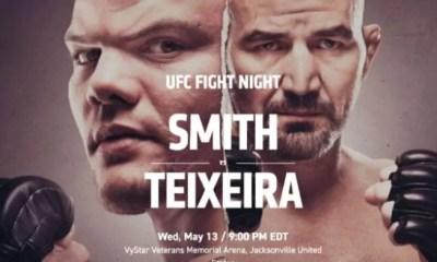 UFC Jacksonville Résultats: Smith vs. Teixeira