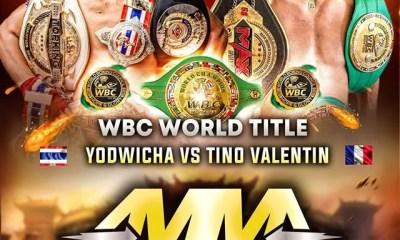 Tino Valentin affrontera le redoutable Yodwicha pour la ceinture mondiale WBC