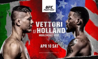 UFC Vegas 23 - Résultats Vettori vs Holland