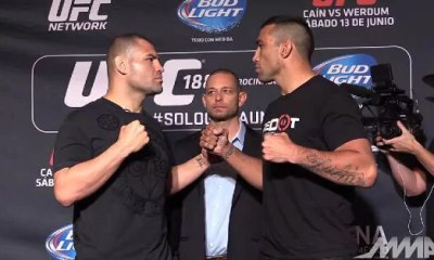 Fabricio Werdum vs Cain Velasquez - Fight Video - UFC 188
